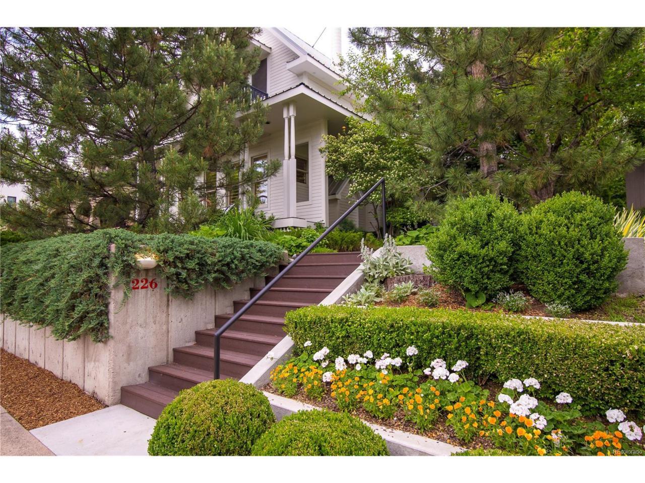 226 S Franklin Street, Denver, CO 80209 (MLS #9655205) :: 8z Real Estate