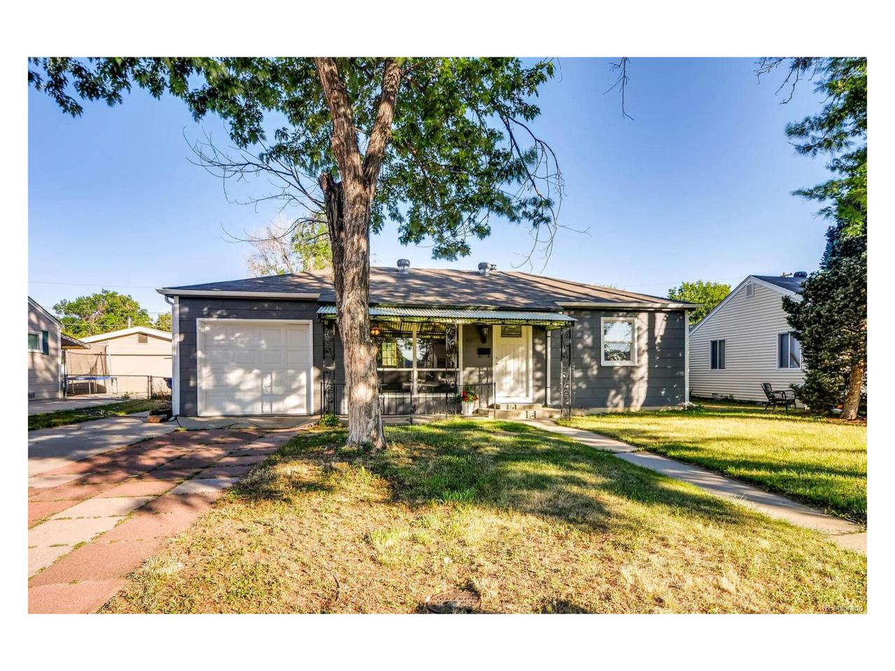 835 Kingston Street, Aurora, CO 80010 (MLS #9691247) :: 8z Real Estate
