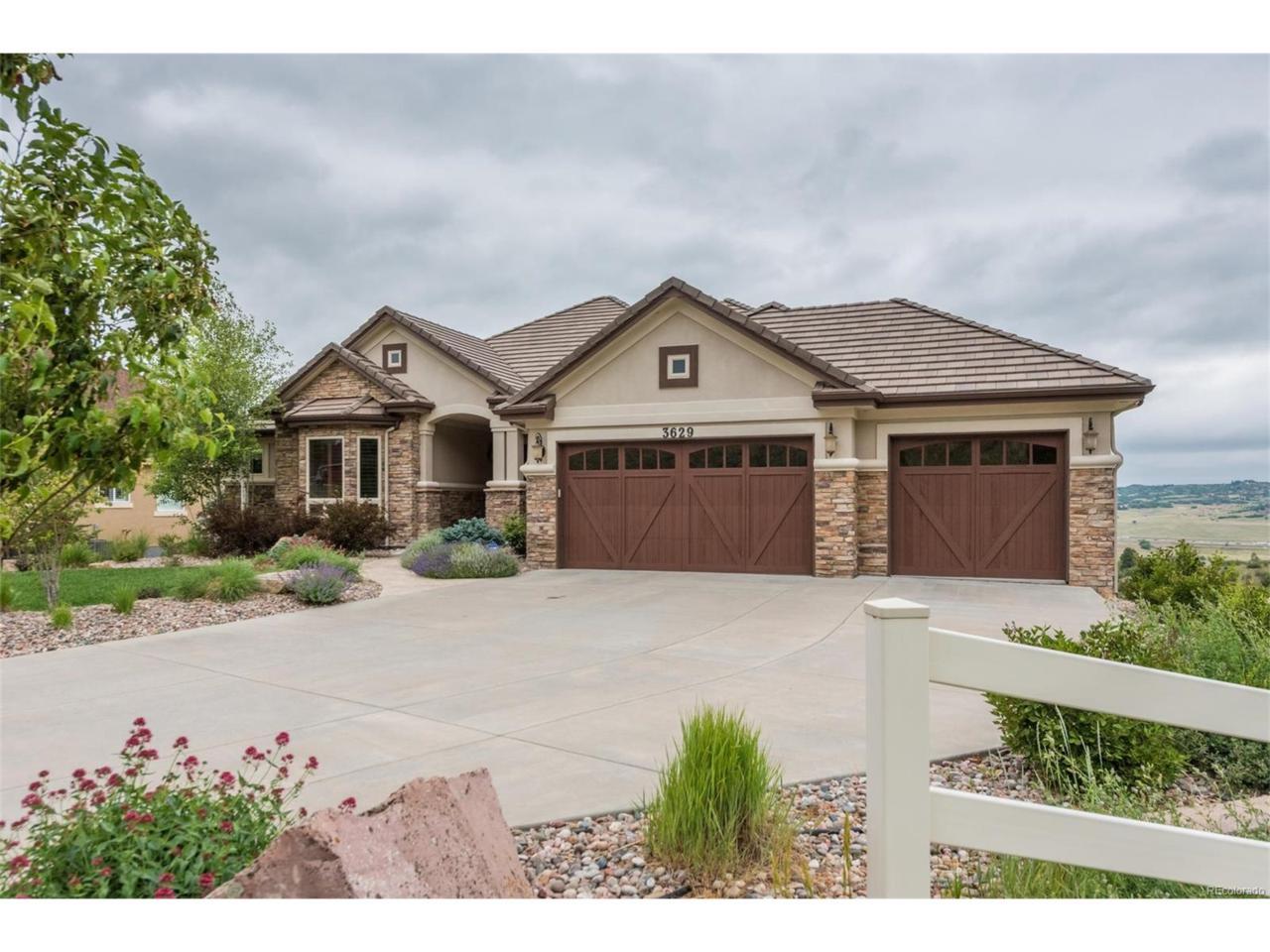 3629 Eveningglow Way, Castle Rock, CO 80104 (MLS #9740160) :: 8z Real Estate