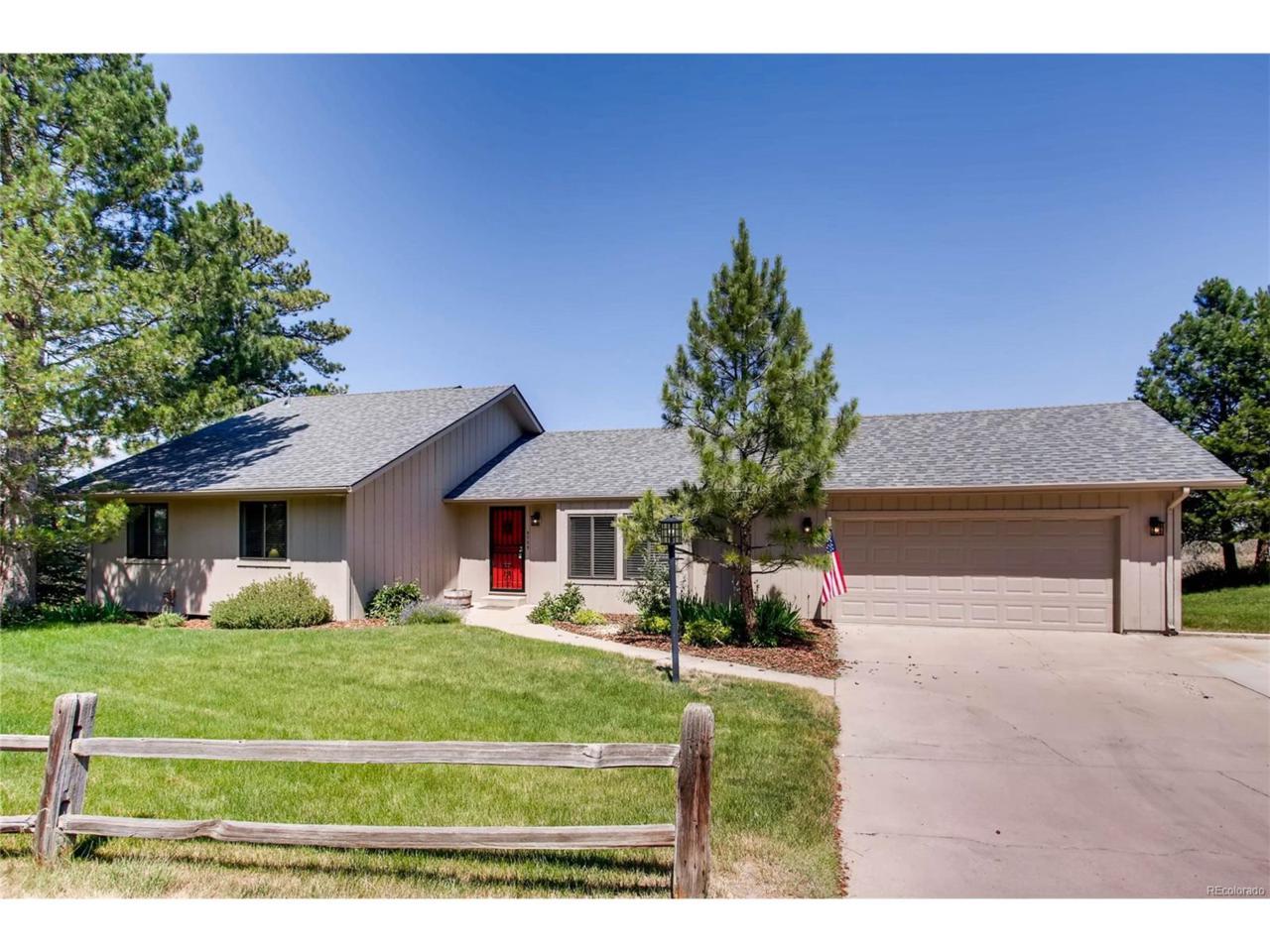 5725 Thunder Hill Road, Parker, CO 80134 (MLS #9896470) :: 8z Real Estate