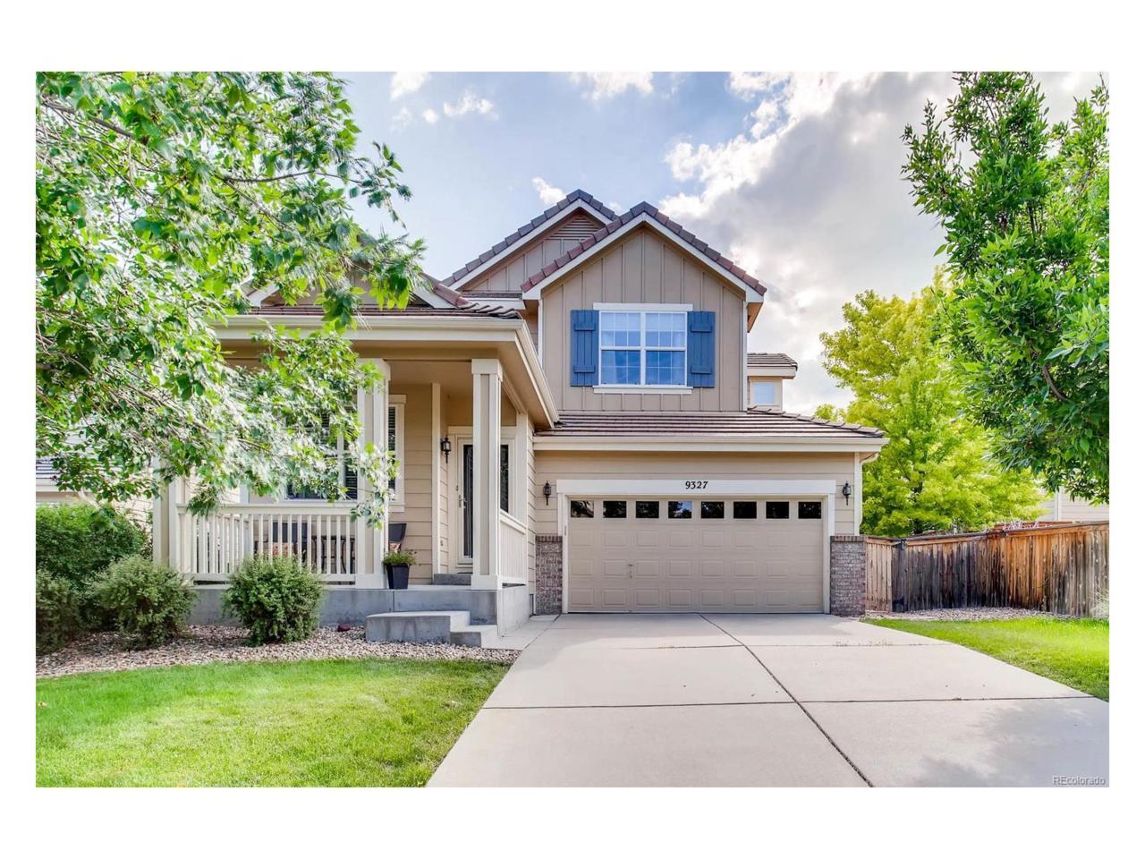 9327 Branham Drive, Parker, CO 80134 (MLS #9935966) :: 8z Real Estate