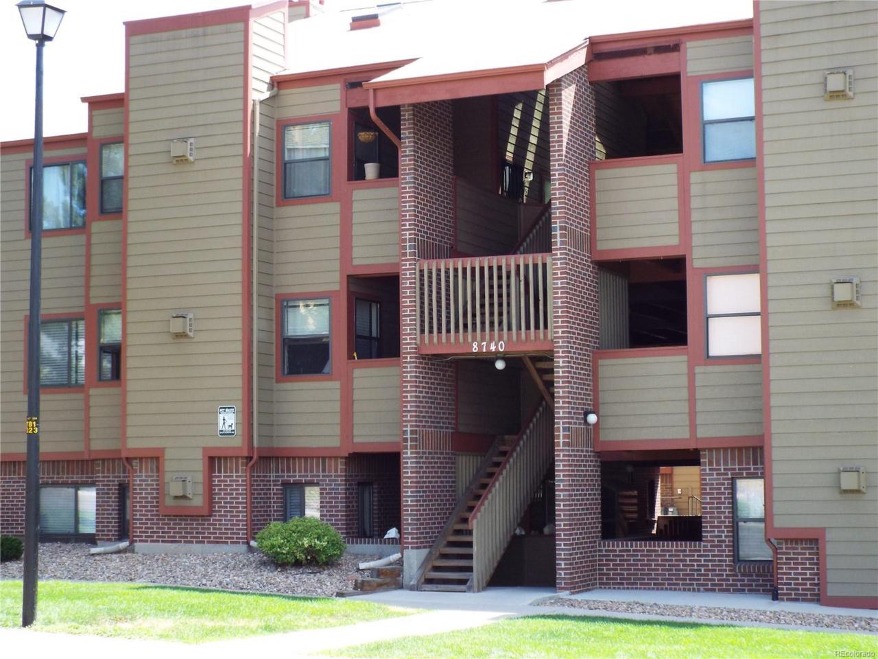 8740 Corona Street #301, Denver, CO 80229 (MLS #9955700) :: 8z Real Estate
