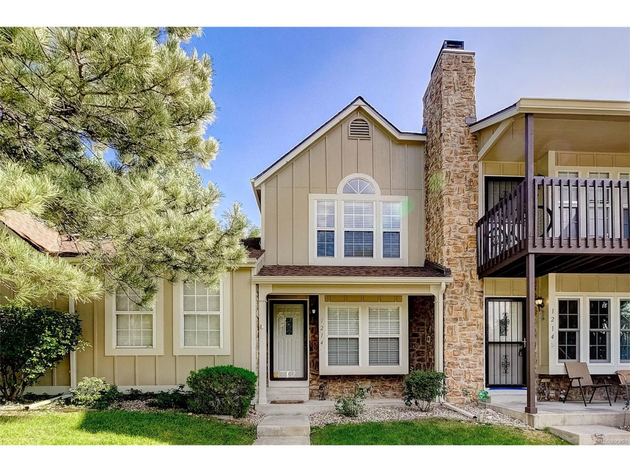 1214 S Flower Circle B, Lakewood, CO 80232 (MLS #9980842) :: 8z Real Estate