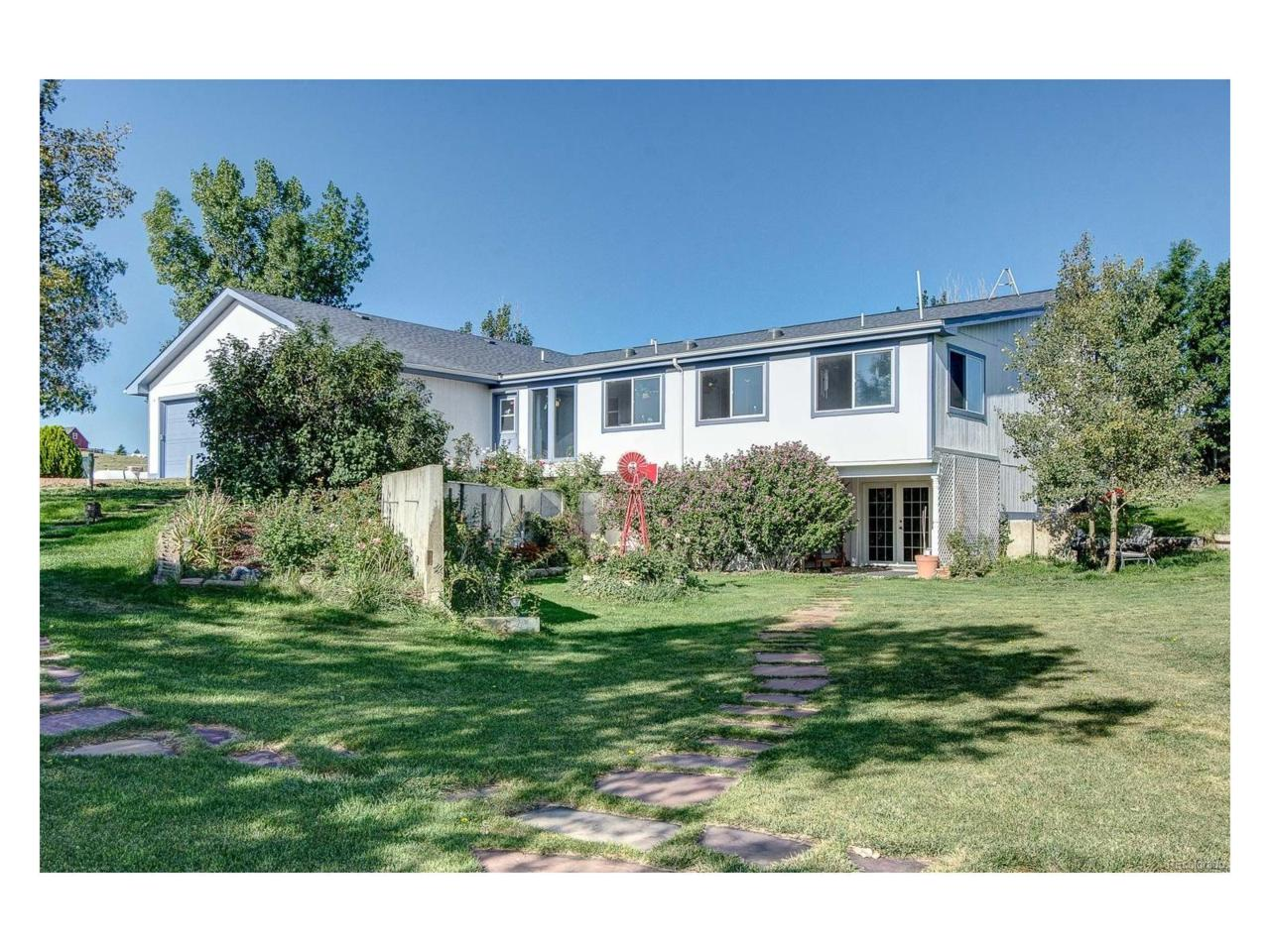 46761 Foxwood Drive, Elizabeth, CO 80107 (MLS #1514226) :: 8z Real Estate