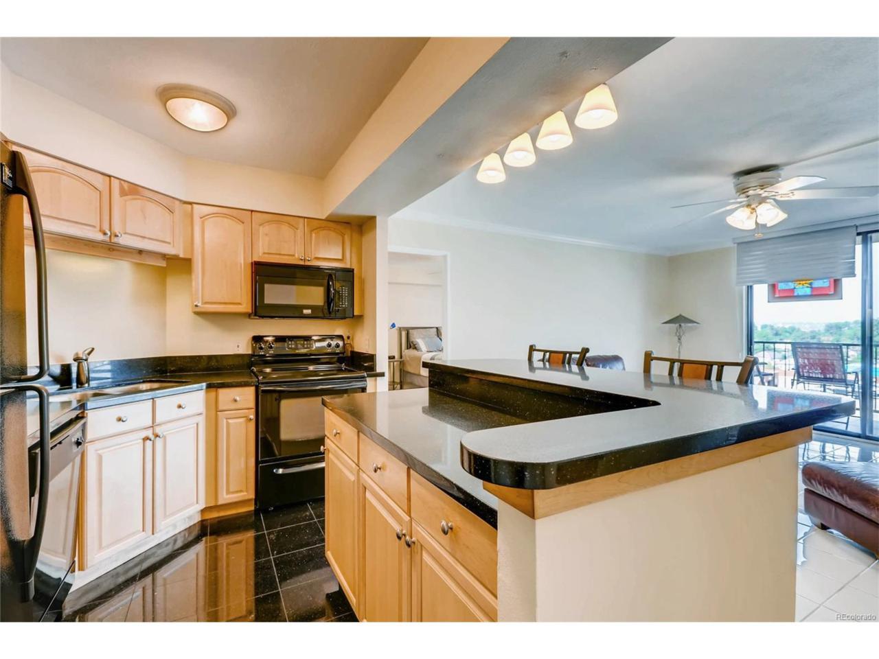 1301 Speer Boulevard #602, Denver, CO 80204 (MLS #2550583) :: 8z Real Estate