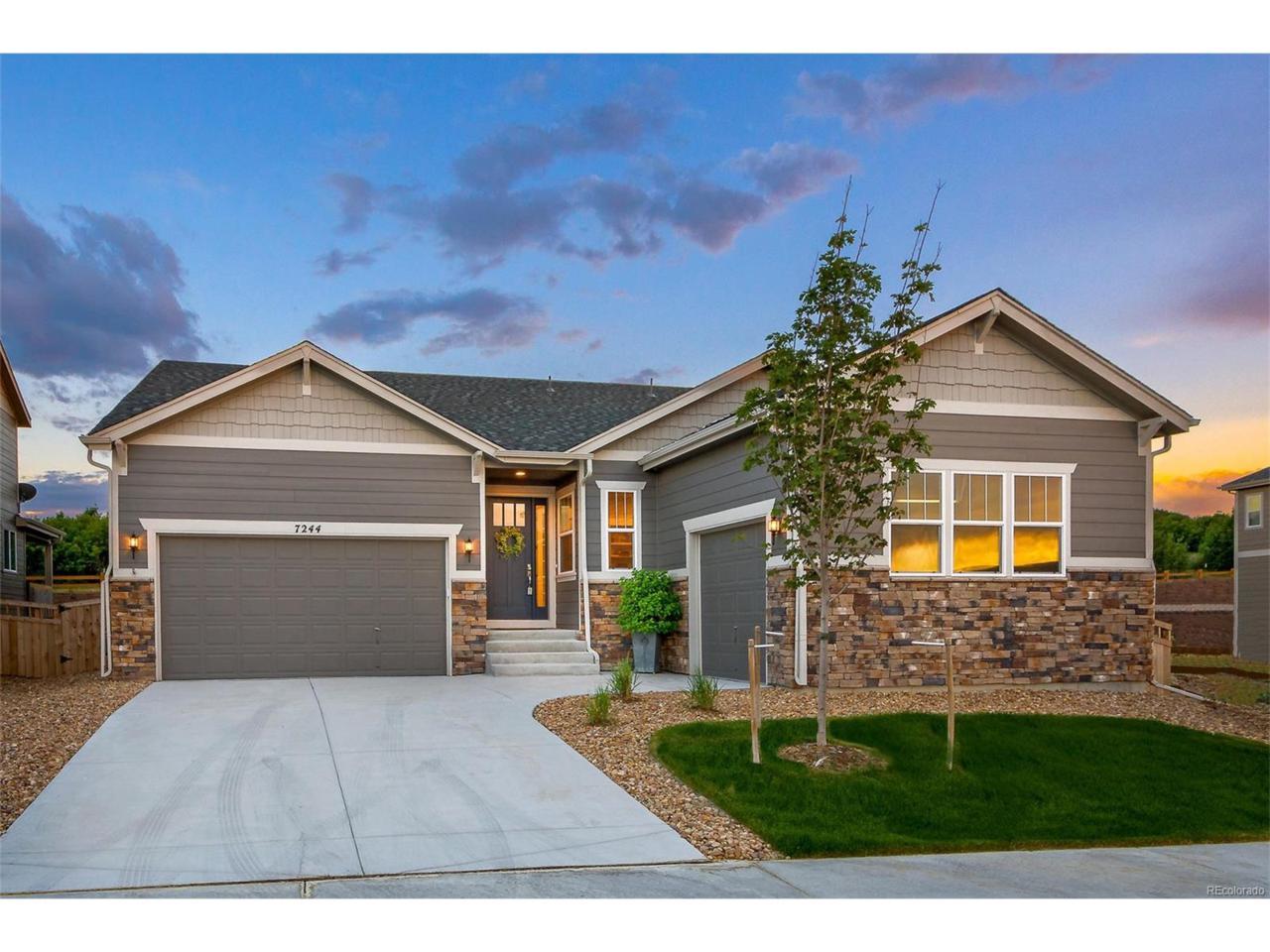 7244 Oasis Drive, Castle Rock, CO 80108 (MLS #2656104) :: 8z Real Estate
