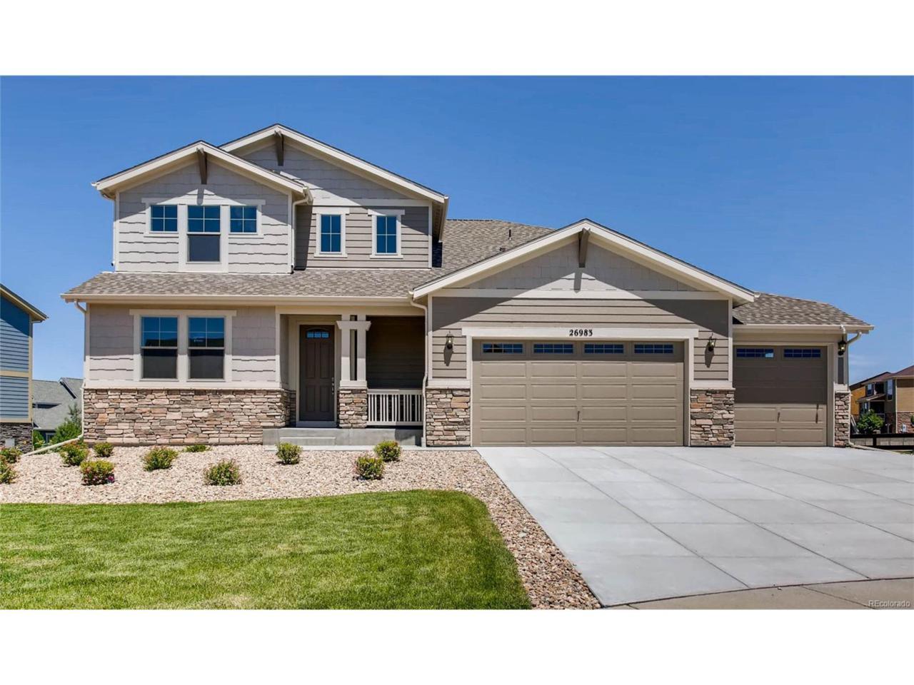 26983 E Ottawa Place, Aurora, CO 80016 (MLS #3357428) :: 8z Real Estate