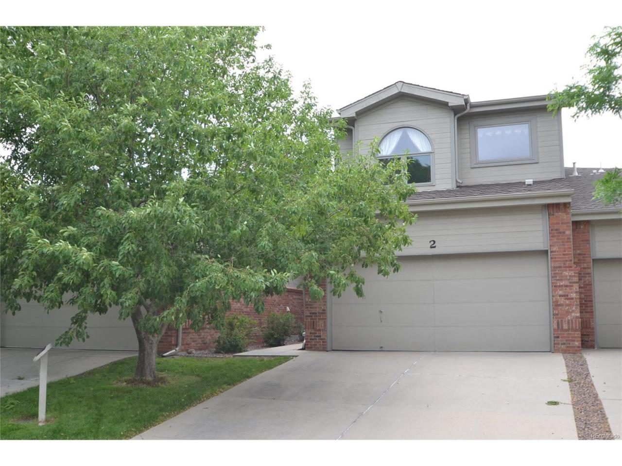 12039 W 52nd Place #2, Arvada, CO 80002 (MLS #3822465) :: 8z Real Estate