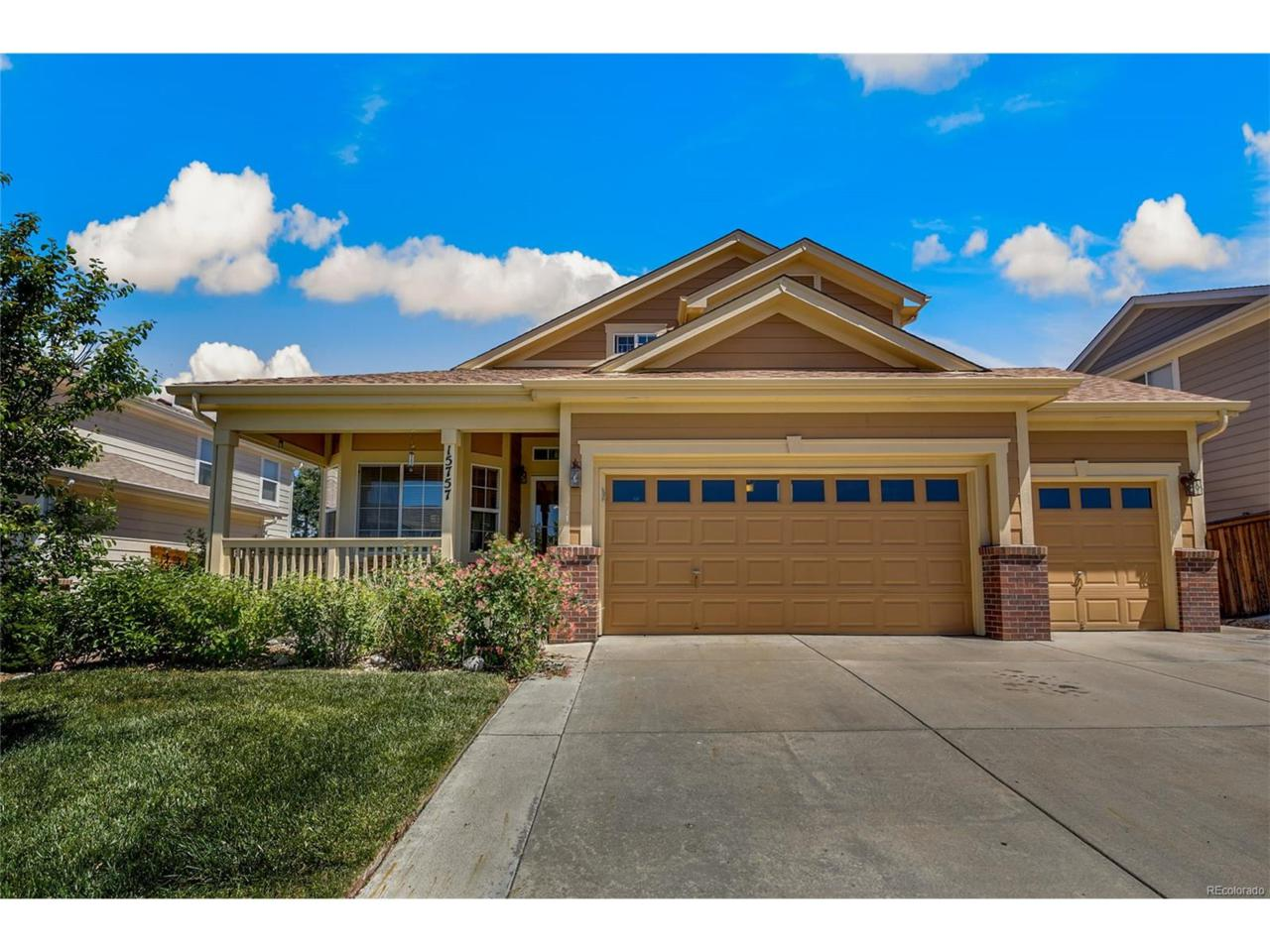 15757 E 107th Way, Commerce City, CO 80022 (MLS #3827737) :: 8z Real Estate