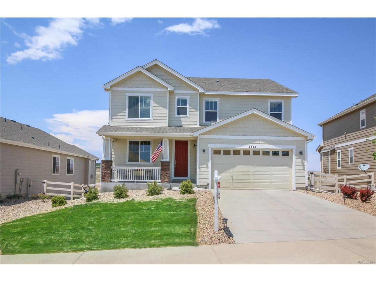 2843 Hillcroft Lane, Castle Rock, CO 80104 (MLS #4058583) :: 8z Real Estate