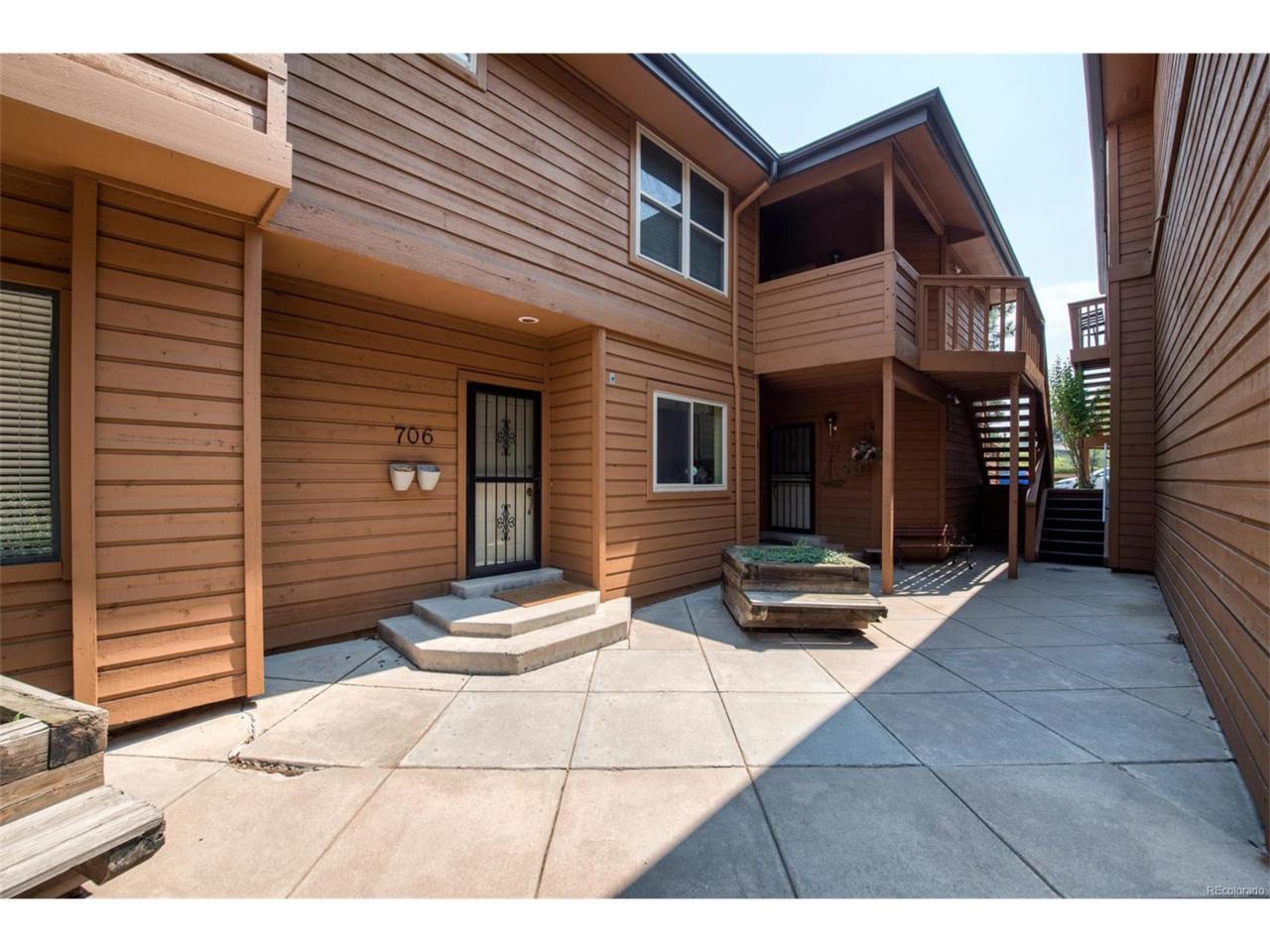 5555 E Briarwood Avenue #709, Centennial, CO 80122 (MLS #4221460) :: 8z Real Estate