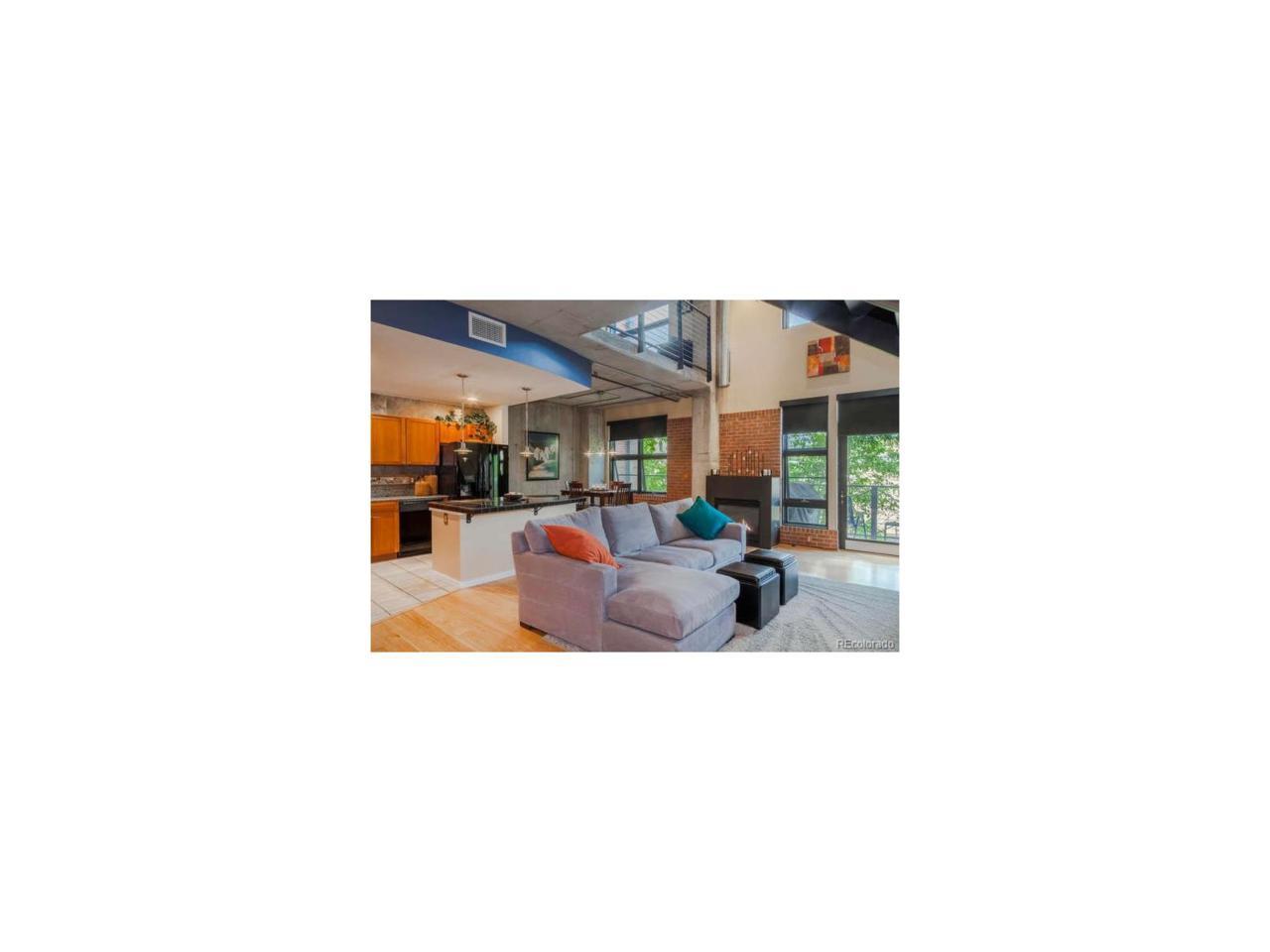 1860 Washington Street #205, Denver, CO 80203 (MLS #4632355) :: 8z Real Estate