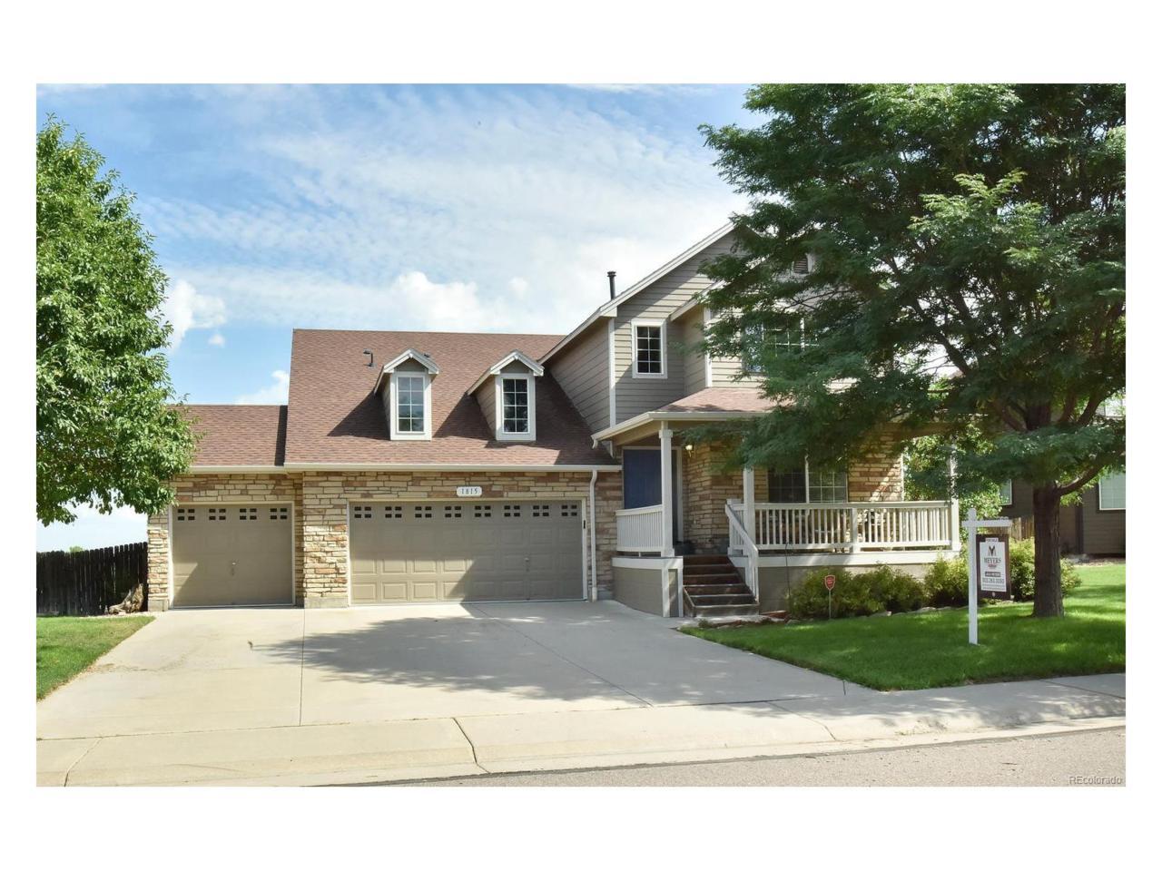 1815 E 144th Drive, Thornton, CO 80602 (MLS #4725380) :: 8z Real Estate