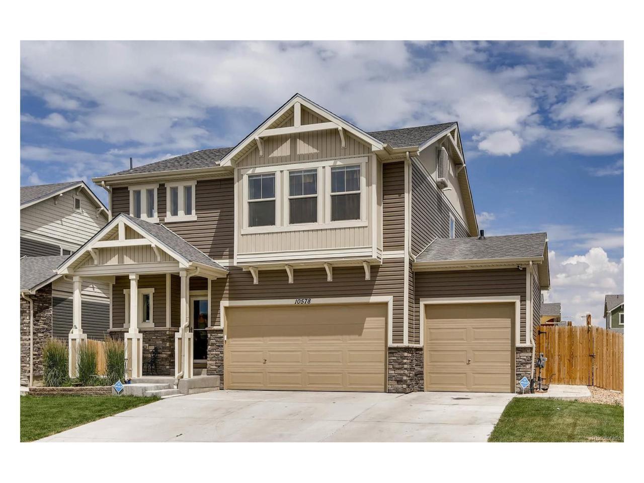 10578 Worchester Street, Commerce City, CO 80022 (MLS #4734326) :: 8z Real Estate