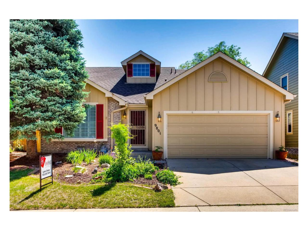 9801 Foxhill Circle, Highlands Ranch, CO 80129 (MLS #5086547) :: 8z Real Estate