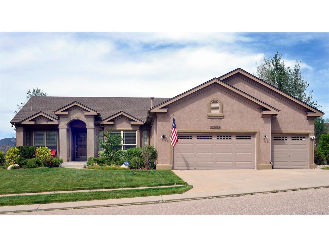 12594 Woodmont Drive, Colorado Springs, CO 80921 (MLS #5106202) :: 8z Real Estate