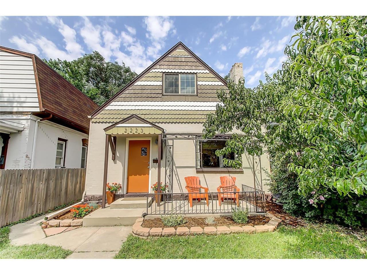 2223 Irving Street, Denver, CO 80211 (MLS #5392200) :: 8z Real Estate