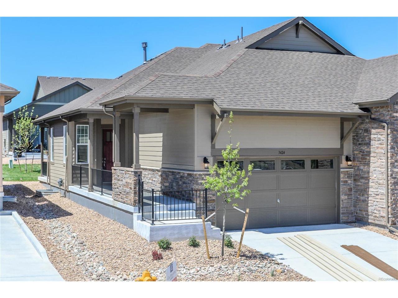 3424 New Haven Circle, Castle Rock, CO 80109 (MLS #5455554) :: 8z Real Estate
