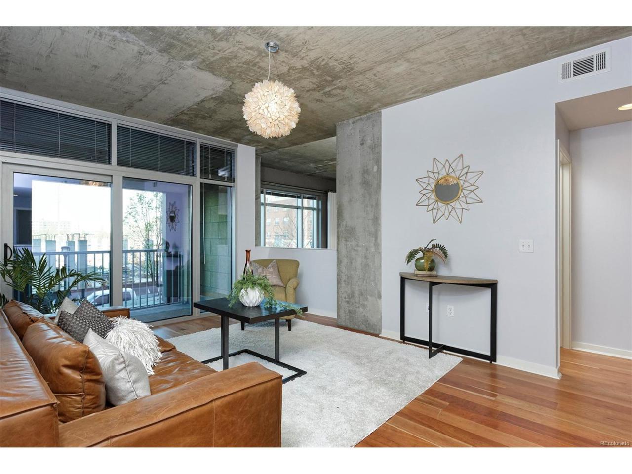 1700 Bassett Street #104, Denver, CO 80202 (MLS #5708845) :: 8z Real Estate