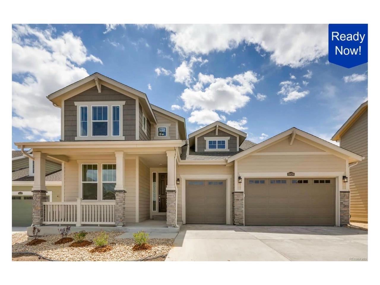 16656 Azalea Avenue, Parker, CO 80134 (MLS #5709582) :: 8z Real Estate