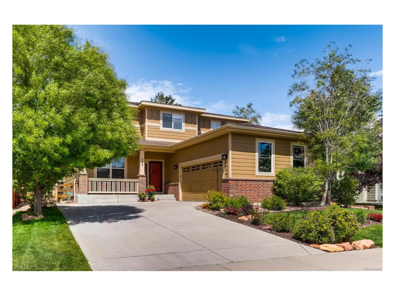 727 Jarvis Drive, Erie, CO 80516 (MLS #6535982) :: 8z Real Estate