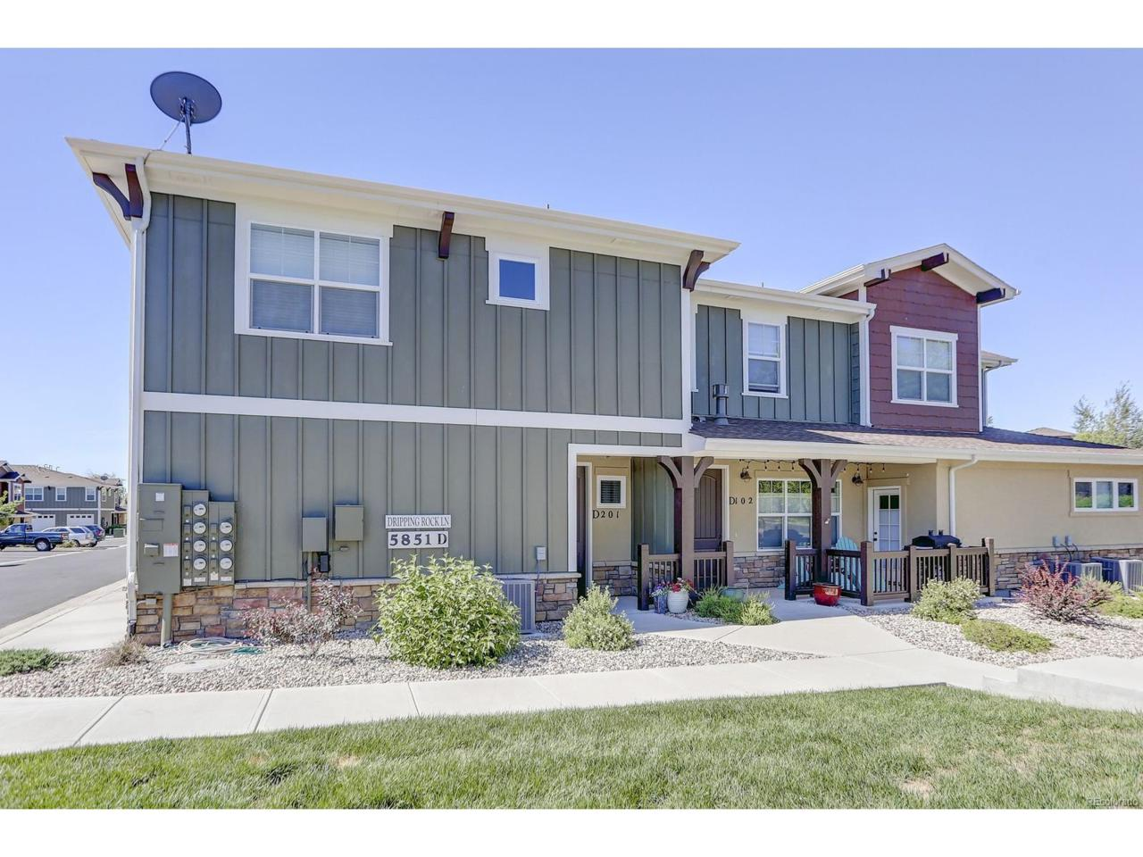 5851 Dripping Rock Lane D201, Fort Collins, CO 80528 (MLS #7613167) :: 8z Real Estate