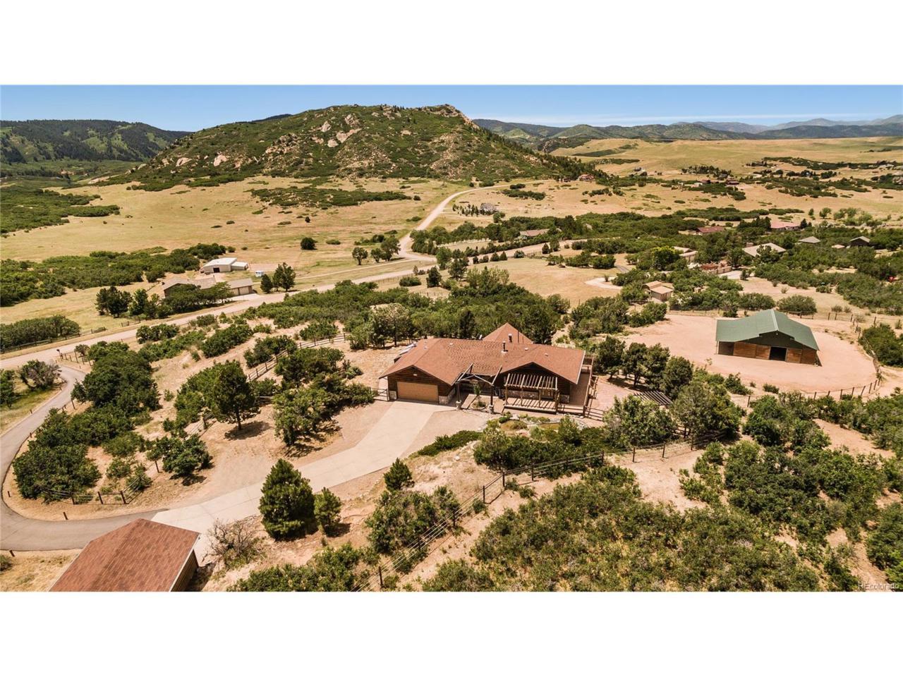 3134 Winnebago Drive, Sedalia, CO 80135 (MLS #7755583) :: 8z Real Estate