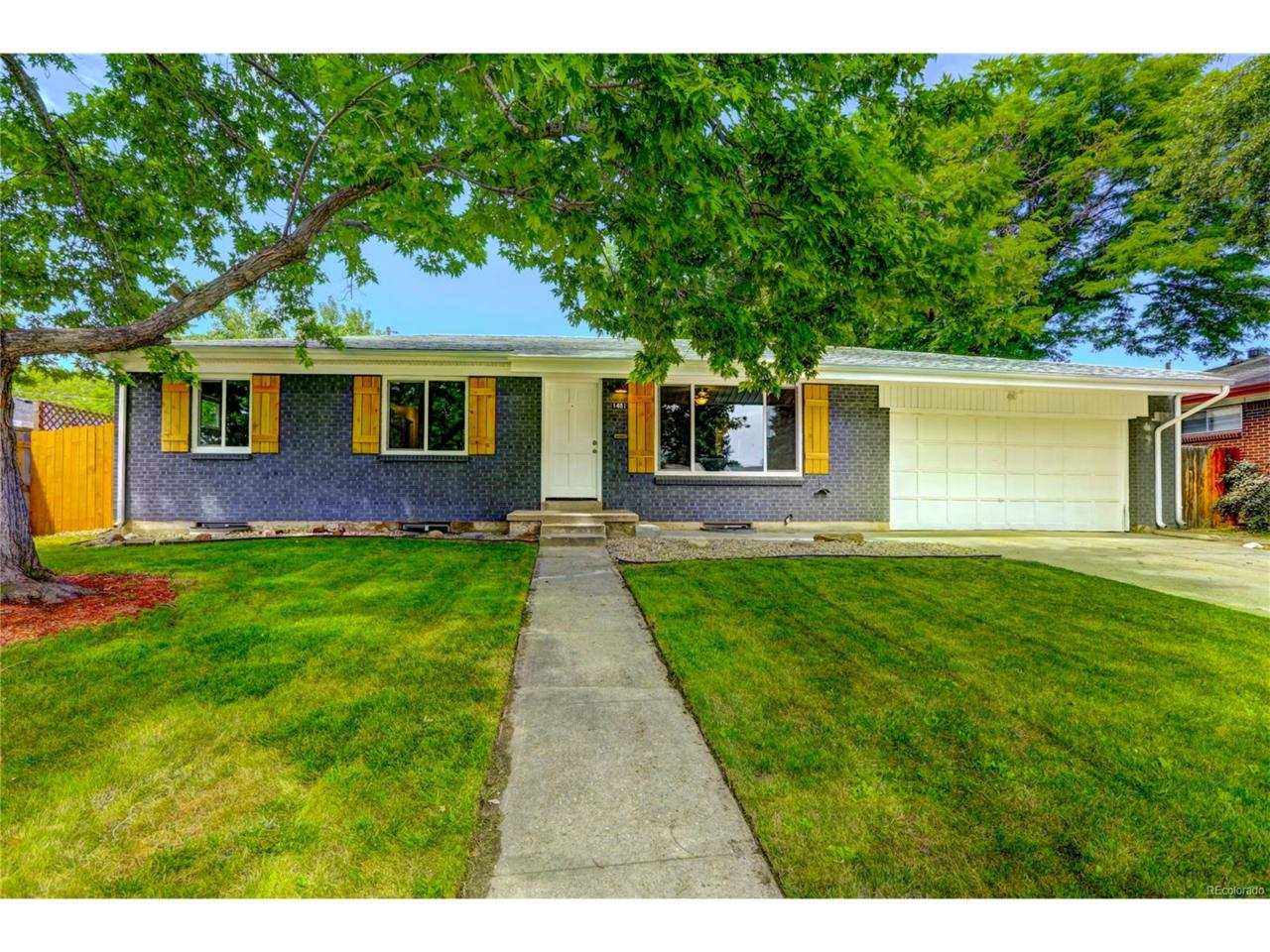 1481 S Ammons Street, Lakewood, CO 80232 (MLS #8338235) :: 8z Real Estate