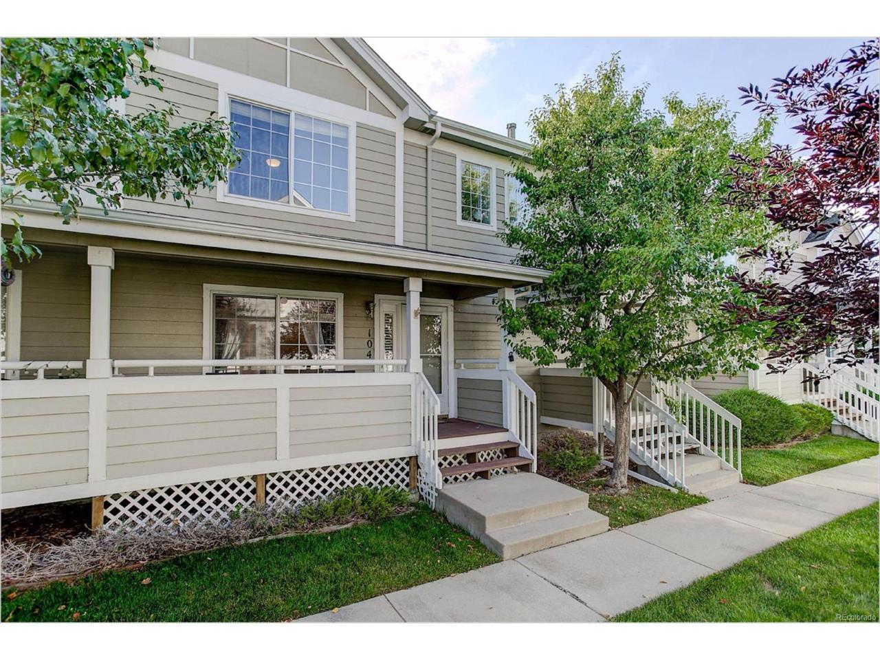 1382 S Cathay Court #104, Aurora, CO 80017 (MLS #8358245) :: 8z Real Estate