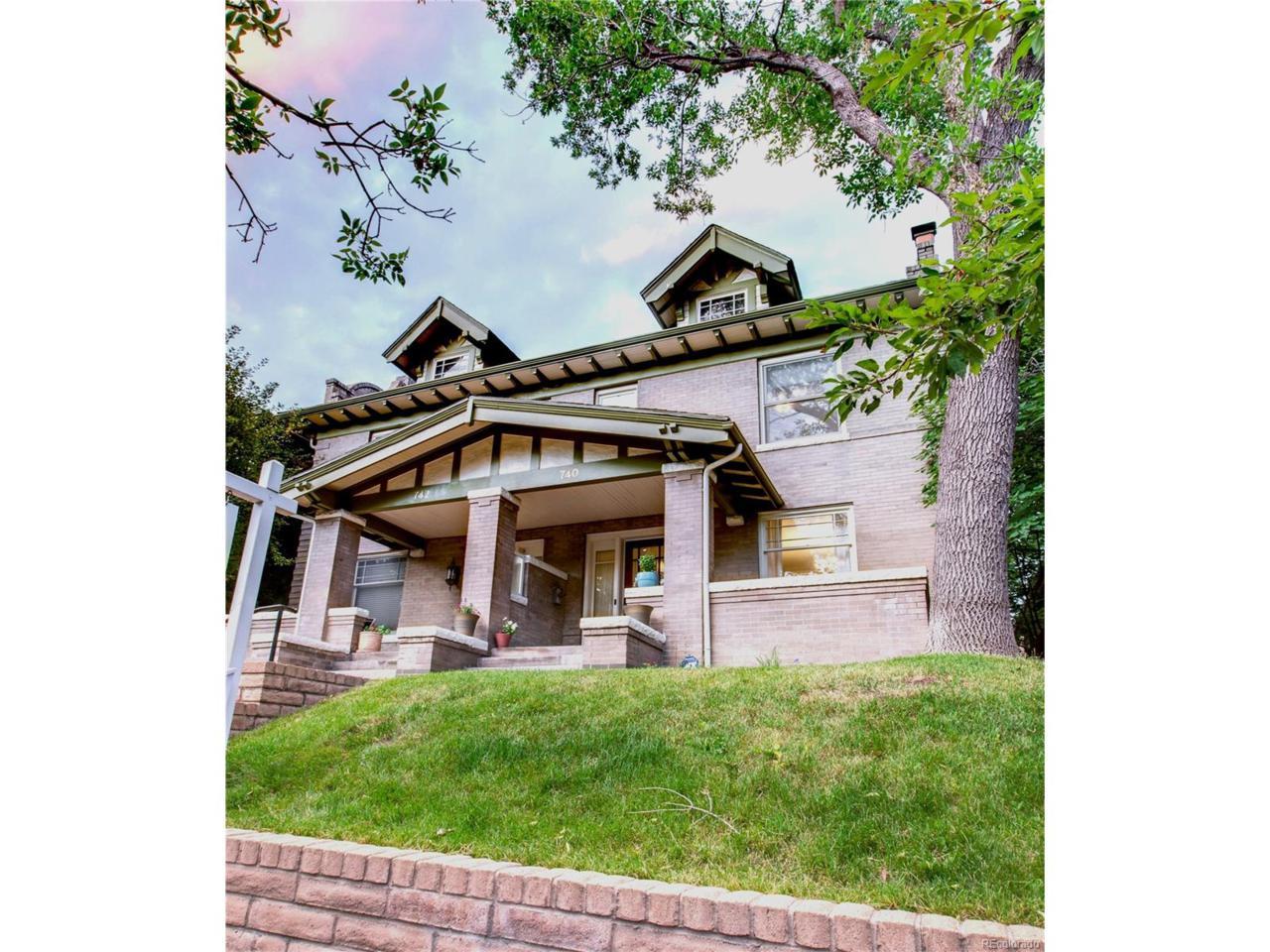 740 N Corona Street, Denver, CO 80218 (MLS #8646821) :: 8z Real Estate