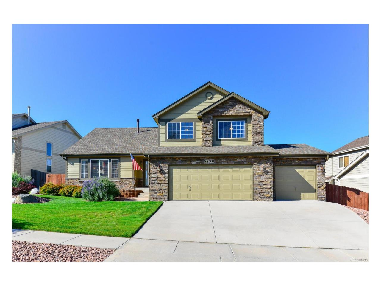 6798 Bitterroot Drive, Colorado Springs, CO 80923 (MLS #9095507) :: 8z Real Estate