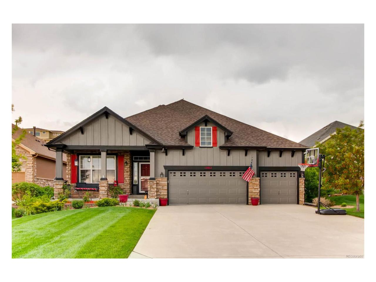 13862 W 87th Drive, Arvada, CO 80005 (MLS #9514176) :: 8z Real Estate