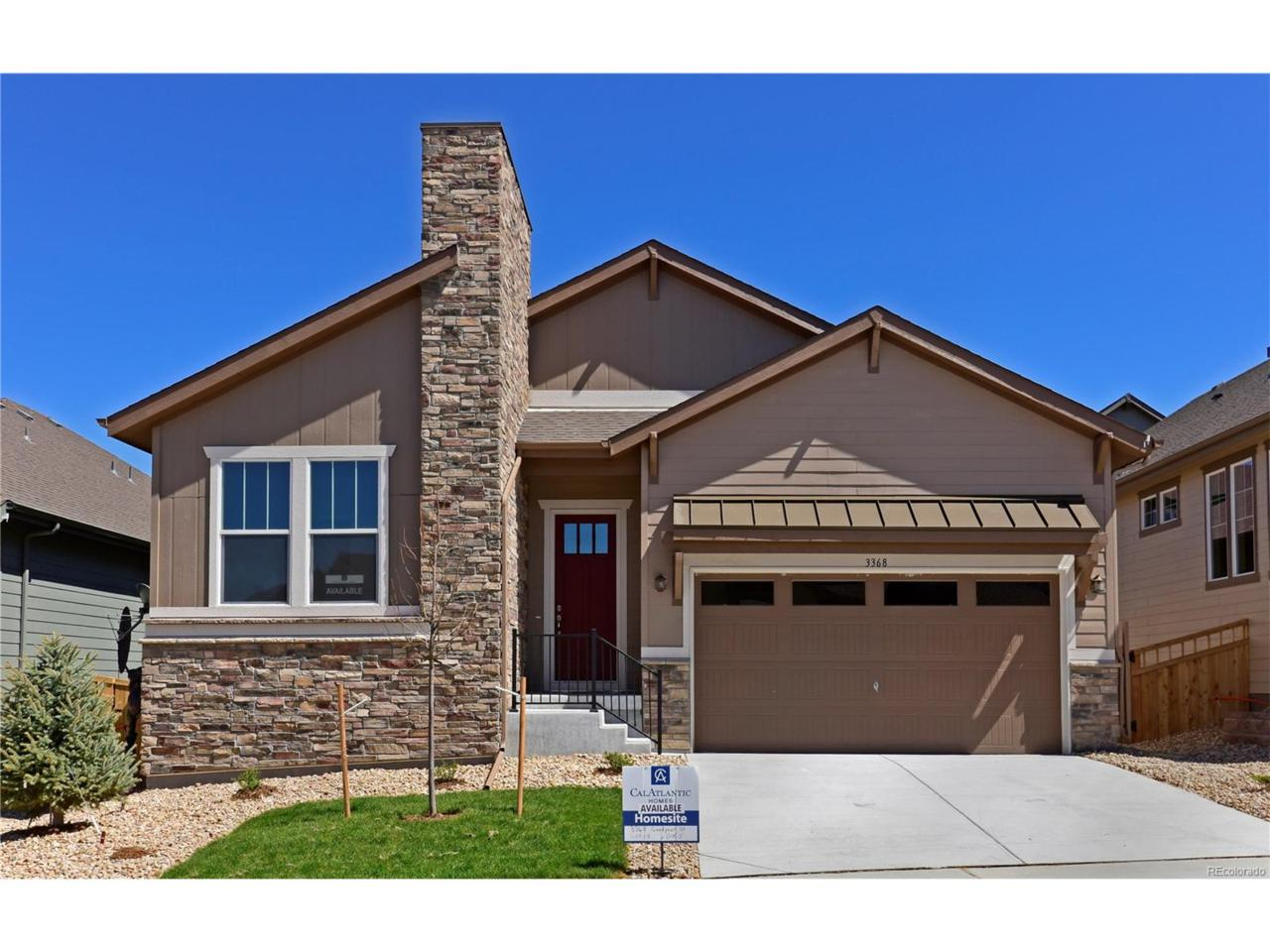 3368 Goodyear Street, Castle Rock, CO 80109 (MLS #9804655) :: 8z Real Estate