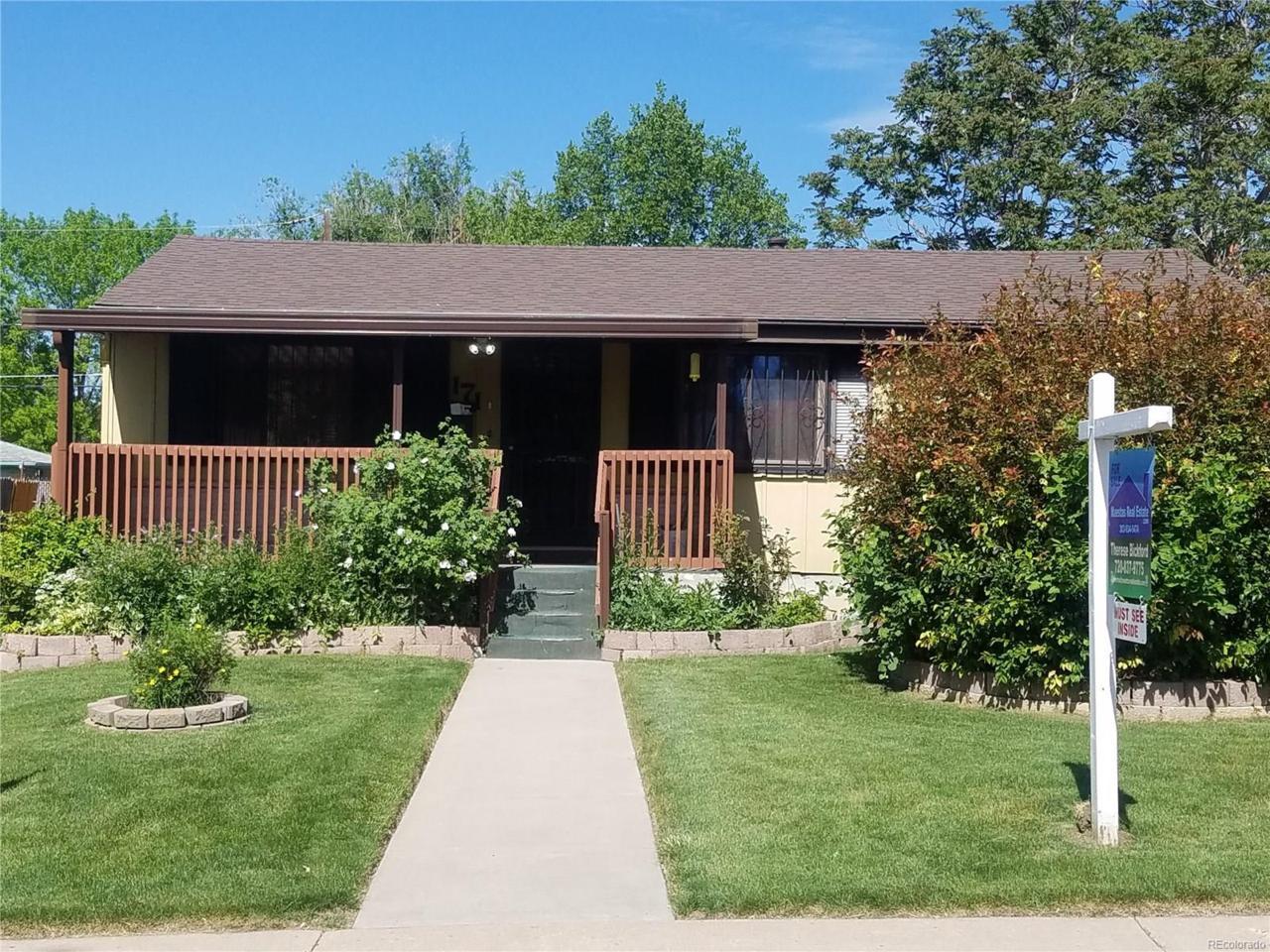 171 Utica Street, Denver, CO 80219 (MLS #9821867) :: 8z Real Estate