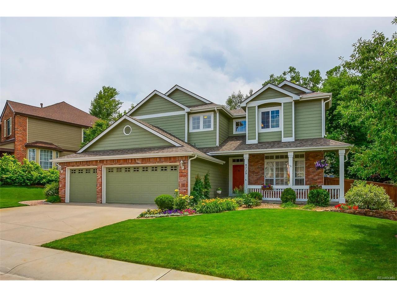 8729 Forrest Drive, Highlands Ranch, CO 80126 (MLS #1716120) :: 8z Real Estate