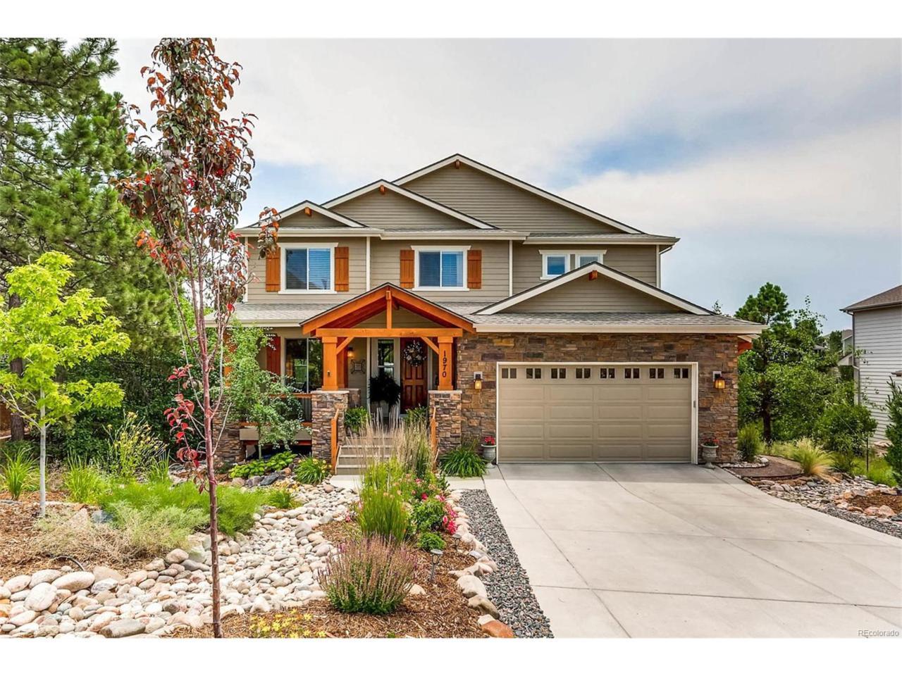 1970 Woodbourne Terrace, Castle Rock, CO 80104 (MLS #3544145) :: 8z Real Estate