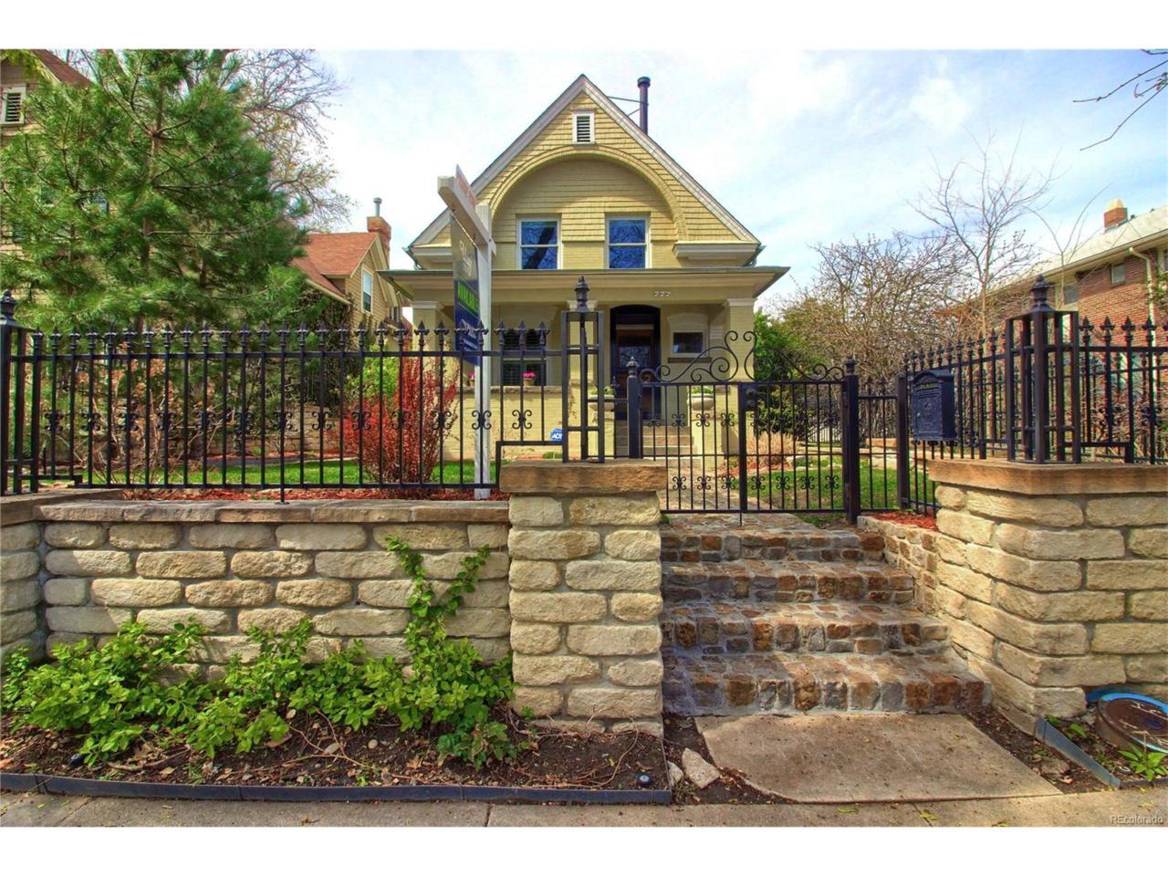 777 Marion Street, Denver, CO 80218 (MLS #4691424) :: 8z Real Estate