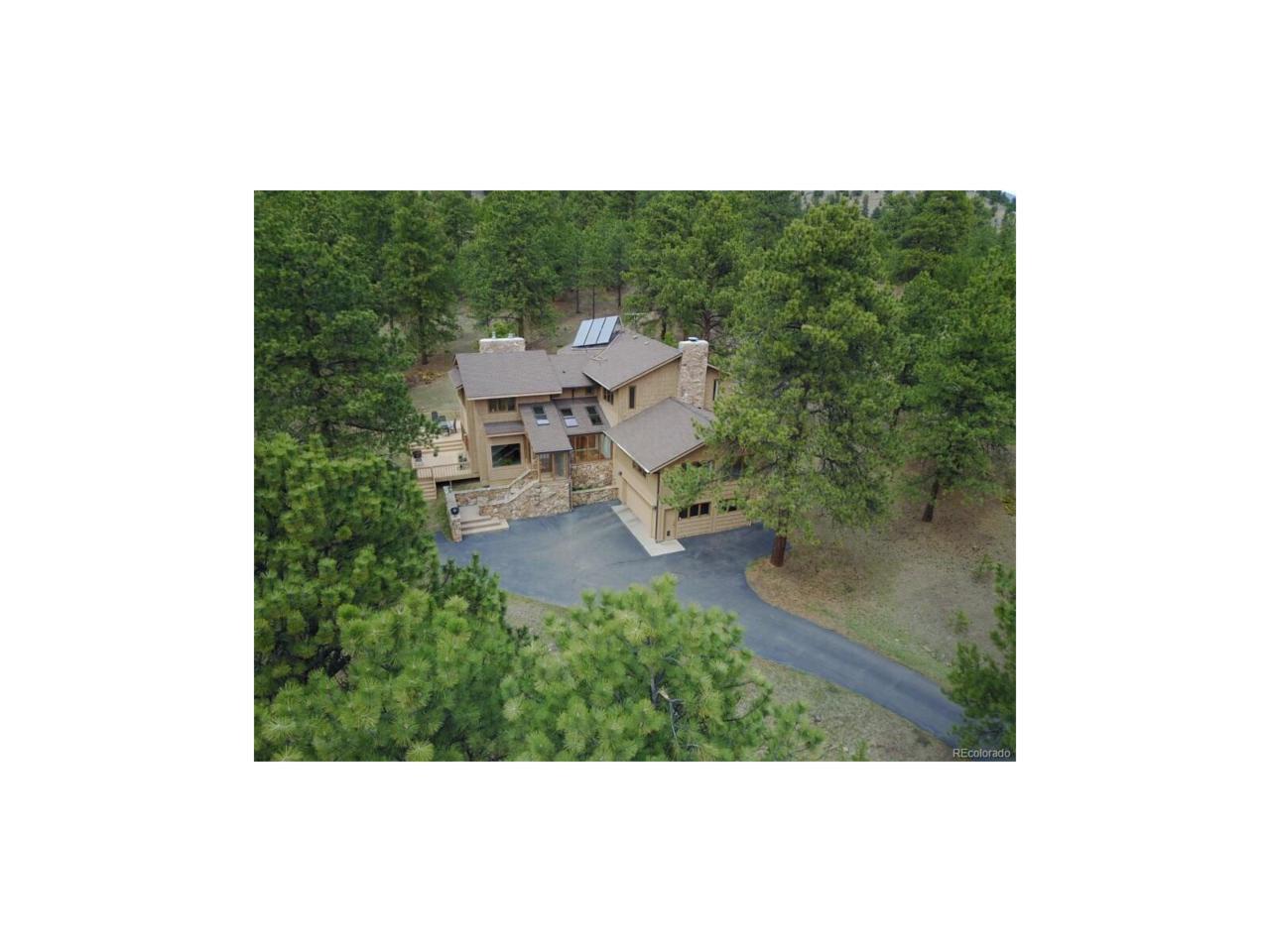 34066 Ranchero Road, Evergreen, CO 80439 (MLS #5052682) :: 8z Real Estate