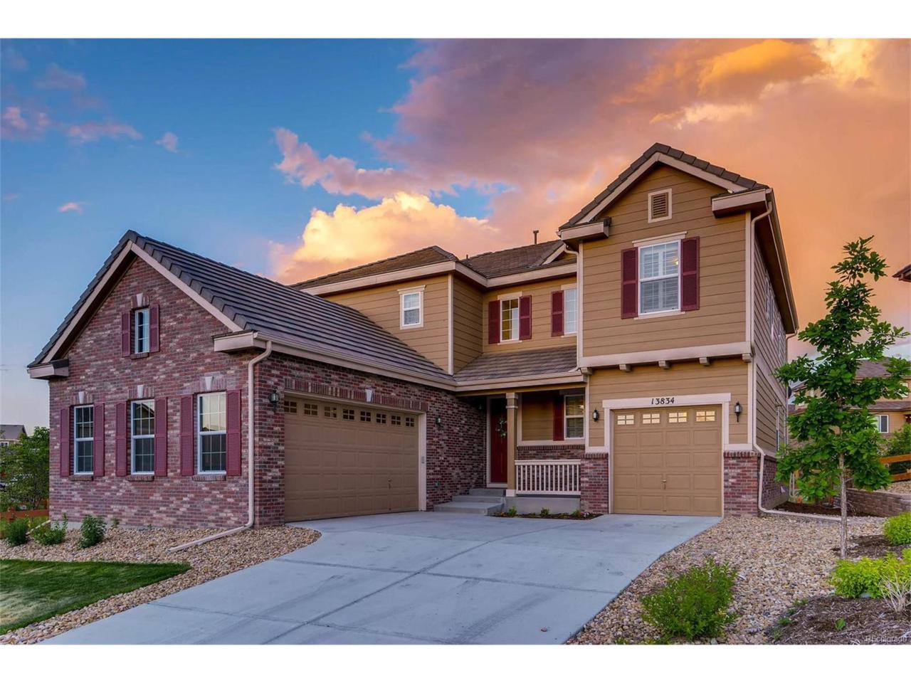 13834 Ashgrove Circle, Parker, CO 80134 (MLS #5752595) :: 8z Real Estate