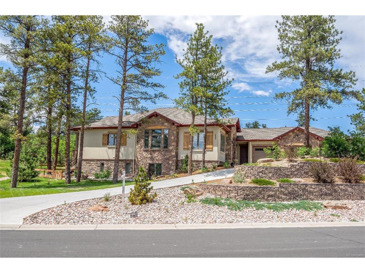 2483 Saddleback Drive, Castle Rock, CO 80104 (MLS #6162298) :: 8z Real Estate