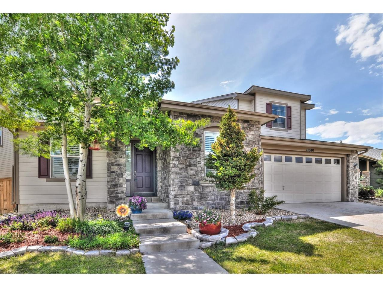 11080 Glengate Circle, Highlands Ranch, CO 80130 (MLS #6278585) :: 8z Real Estate