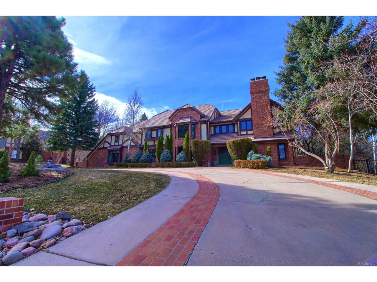 4663 S Elizabeth Court, Cherry Hills Village, CO 80113 (MLS #6614932) :: 8z Real Estate