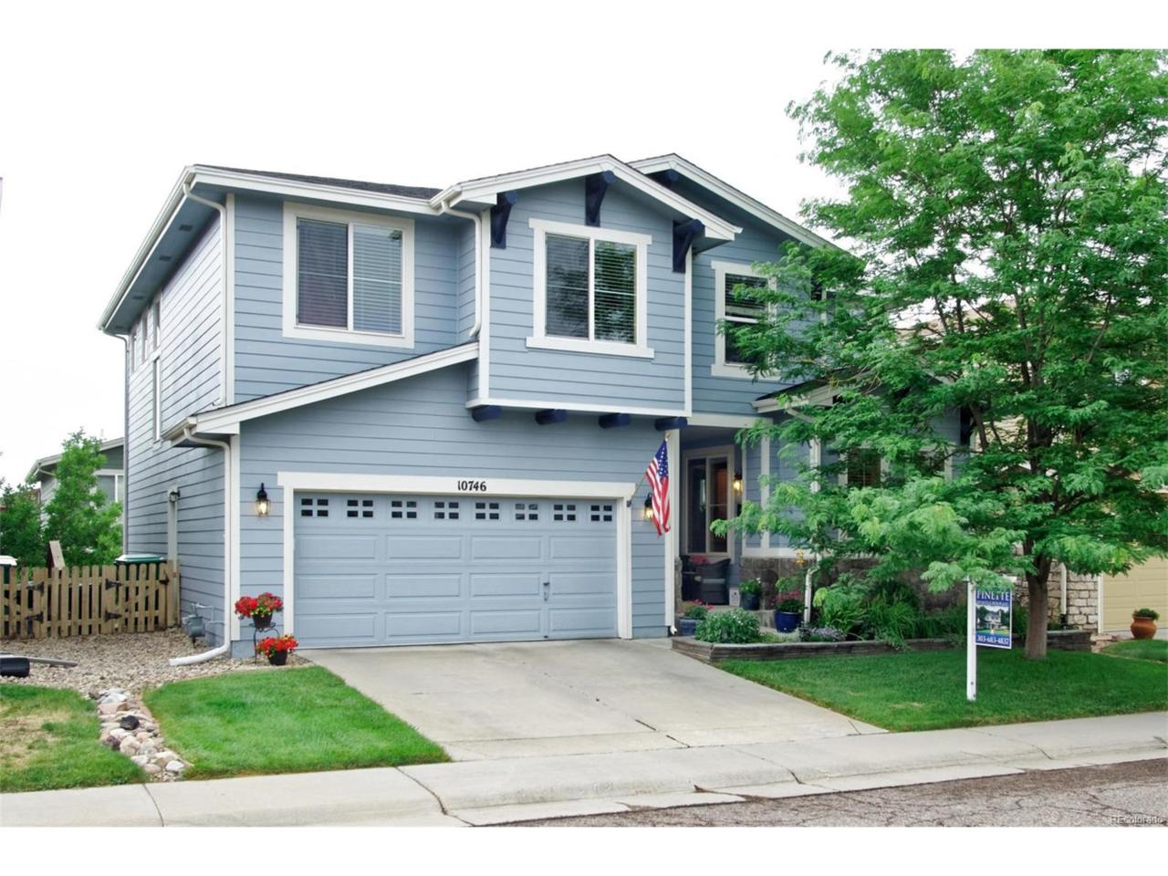 10746 Southhaven Circle, Highlands Ranch, CO 80126 (MLS #2656454) :: 8z Real Estate