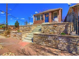 3287 W Fairview Place, Denver, CO 80211 (#1552150) :: The Peak Properties Group