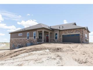 8280 S Jackson Gap Court, Aurora, CO 80016 (#2582975) :: The Peak Properties Group