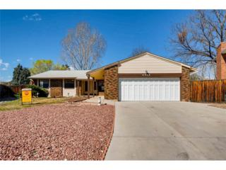 6980 W Quarto Place, Littleton, CO 80128 (#4024325) :: The Peak Properties Group