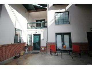 790 Clarkson Street #101, Denver, CO 80218 (#4352348) :: The Peak Properties Group