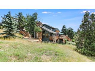 5178 S Elk Ridge Road, Evergreen, CO 80439 (#4468034) :: The Peak Properties Group