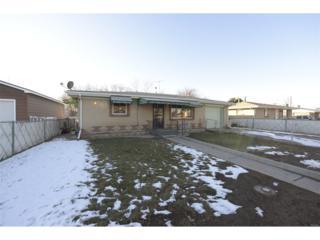 7951 Newport Street, Commerce City, CO 80022 (#5660061) :: The Peak Properties Group