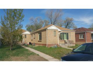 1537 Willow Street, Denver, CO 80220 (#8922134) :: Thrive Real Estate Group